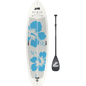 Indiana SUP 10'6 Fit Inflatable SUP Pack Basic with 3-Piece Fibre/Composite Paddle Women